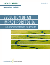 Evolution of an Impact Portfolio:  From Implementation to Results