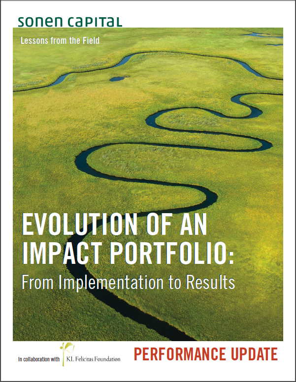 Evolution of an Impact Portfolio KL Felicitas