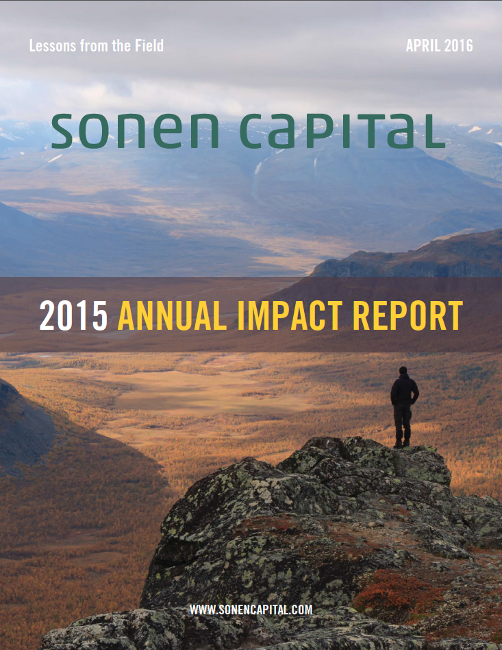 Sonen Capital Annual Impact Report